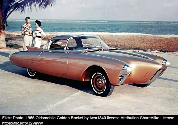OLDSMOBILE GOLDEN ROCKET
