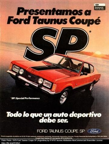 FORD TAUNUS COUPÉ SP