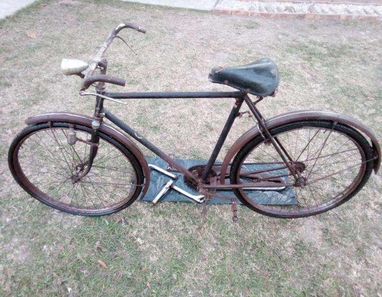 """Bicicleta Legnano """"retro"""", para restaurar."""
